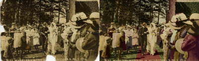 service to hand colour black and white photographs